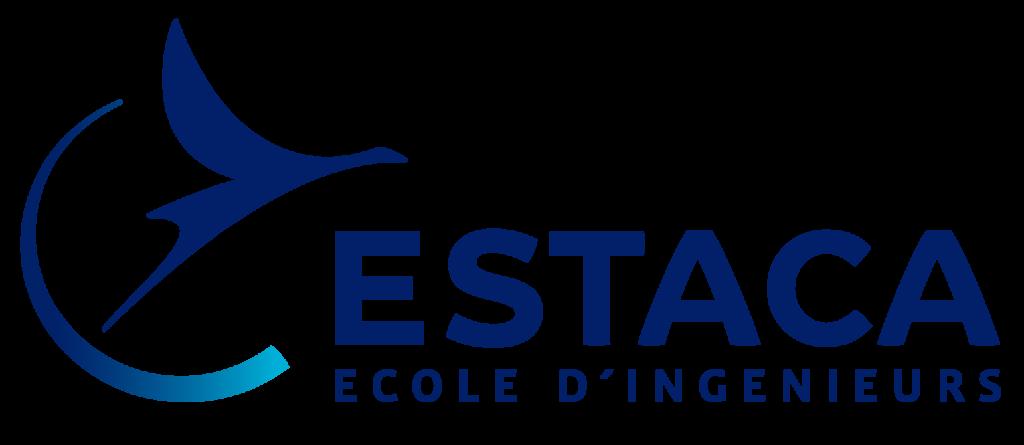 Logo de notre école, l'ESTACA, partenaire de l'ESTACA Formula Team