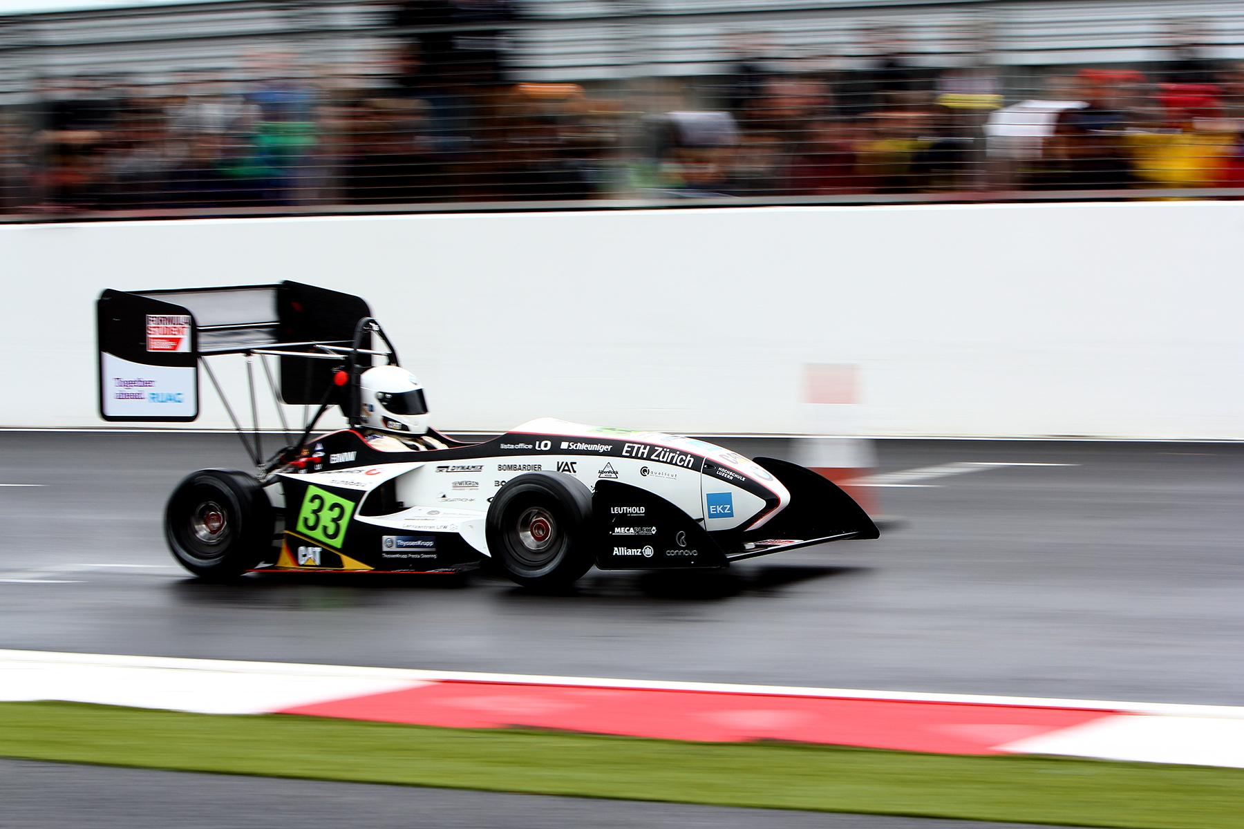 Epreuve de l'accélération lors des Formula Student
