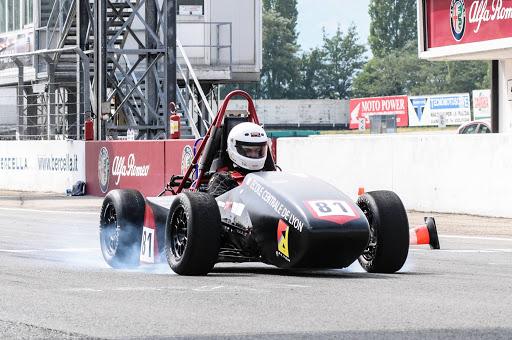 Epreuve du sprint lors des Formula Student