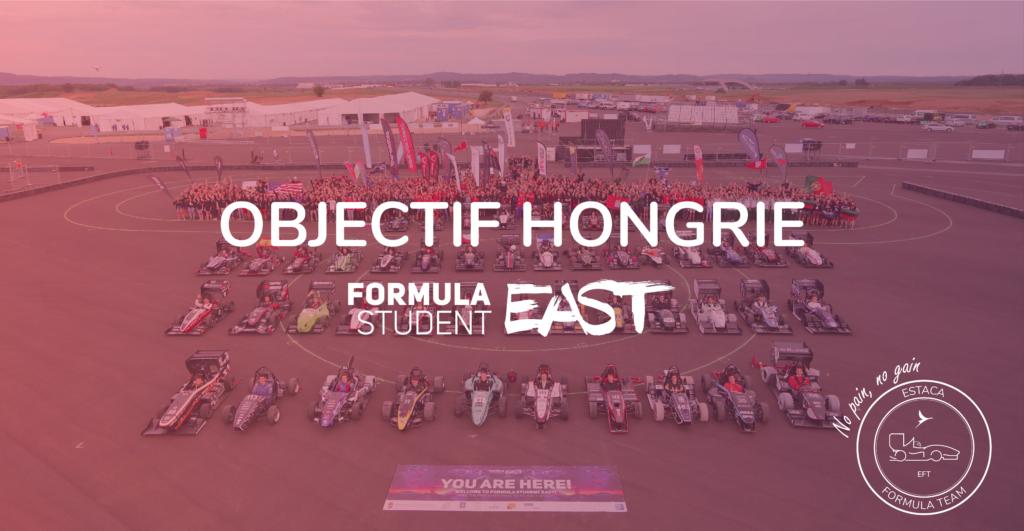 Objectif Hongrie ESTACA Formula Team